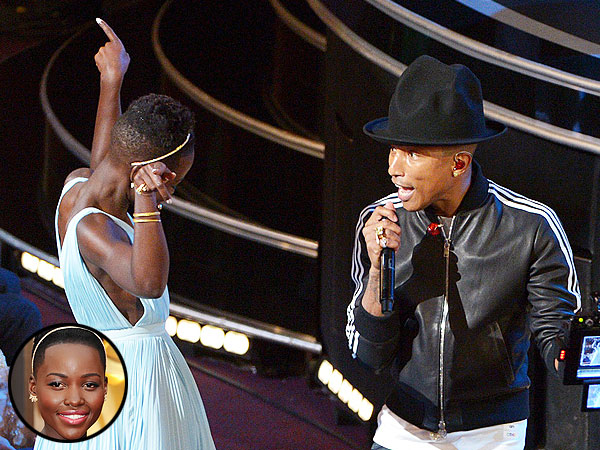 Pharrell Williams Dances with Meryl Streep, Amy Adams and more at the Oscars