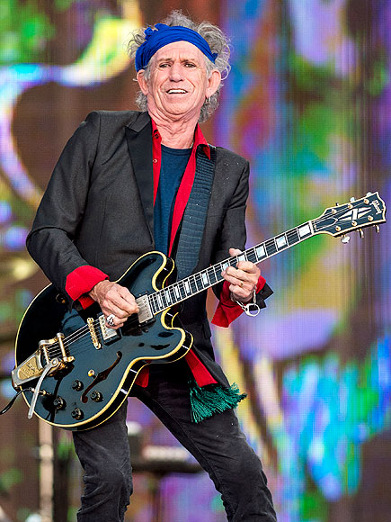 "Keith Richards Announces Children's Book, ""Gus & Me"""