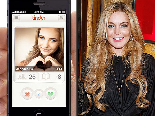 Tinder Is Verifying Celebrities So You Can Date Lindsay Lohan