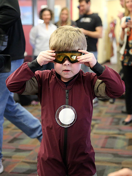 Nebraska Boy Flies Like Iron Man, Thanks to Make-A-Wish (and 4 More Inspiring Stories)