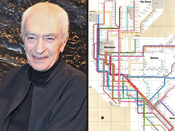 New York City Subway Map Designer Massimo Vignelli Dies