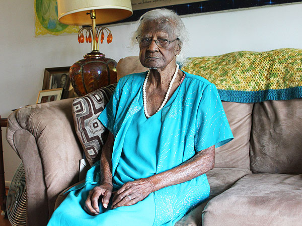 America's Oldest Living Person 115-Year-Old Detroit Woman Jeralean Talley