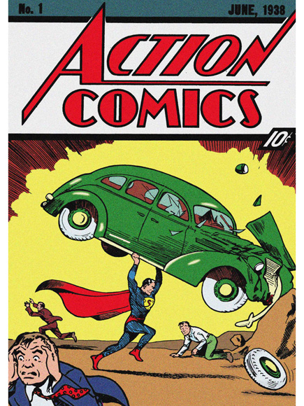 Copy Action Comics No. 1 Fetches $3.2 Million on eBay