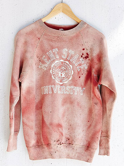 Urban Outfitters Kent State Sweatshirt Stirs Anger