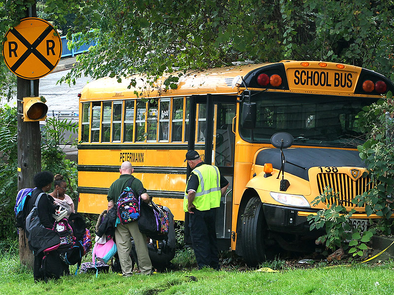 School Bus Driver Risks Life for Student
