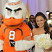 Miami Hurricanes Mascot Walks Bride Down the Aisle After Dad's Untimely Death (VIDEO)