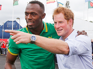 Usain & Prince Harry:  Fun & Games