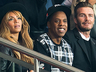 Bey, Jay & David's Paris Match