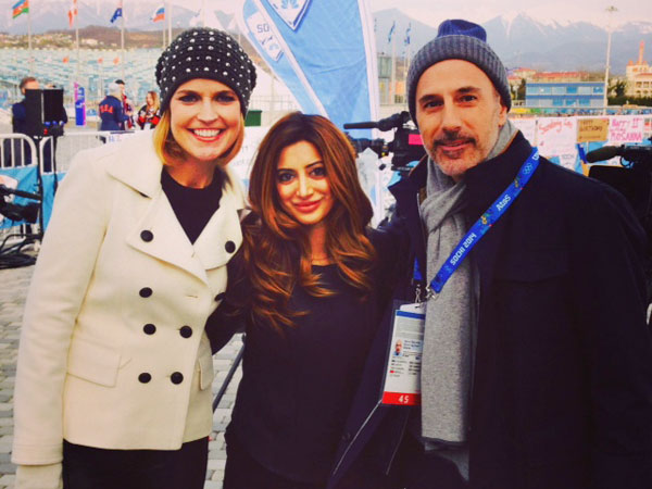 Noureen DeWulf's Olympics Blog: How the Today Show Crew Is Enjoying Sochi