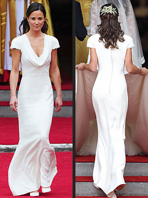 Pippa Middleton's 'False Bottom?' Royal Expert Claims Kate's Sister Faked Curves
