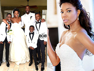 Gabrielle Union Shows Her 2 Sexy, Sweet Wedding Gowns! (PHOTOS)