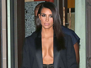 Kim Kardashian Models with Cara Delevingne: See the Sexy Photo!