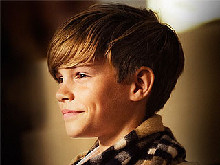 Cuteness Overload! First Look at Romeo Beckham's New Burberry Campaign