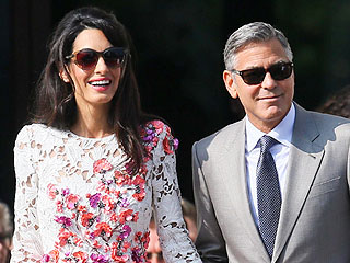 Amal Alamuddin's Wedding Gown and Jewelry: All the Details! (PHOTO)