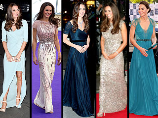 Pregnant Kate Wears Jenny Packham: See 4 More Times She's Wowed in the Label
