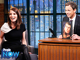 Tina Fey and Seth Meyers Reunite on Late Night