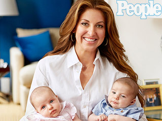 Meet Dylan Lauren's Twins Cooper Blue and Kingsley Rainbow (PHOTOS)