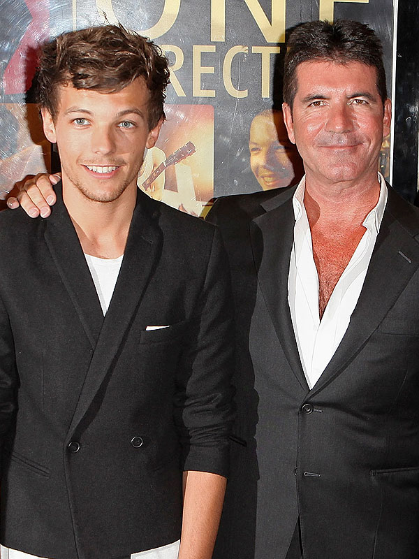 Simon Cowell Interview About One Direction and Louis Tomlinson's Baby News