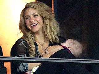 Shakira's Son Sasha Is Already Mastering Soccer at 6 Months
