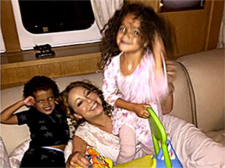 Mariah Carey Share Adorable Vacation Photos With Her Twins, Monroe and Moroccan