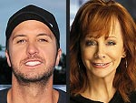 Cheers! Luke Bryan and Reba McEntire Enjoy Champagne over Lunch While Promoting Their New Music in N.Y.C.