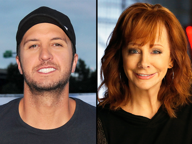 Luke Bryan, Reba McEntire Share Lunch at Del Frisco's Grille in New York City