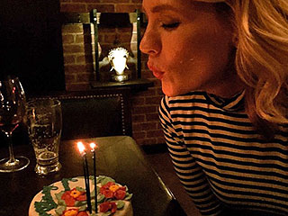January Jones Wins 37th Birthday With Impressive Feast