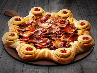 Pizza Hut Just Stuffed 8 Meat Pies Into Its Crust