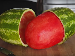 Skinning a Watermelon Is Your New Labor Day Party Trick