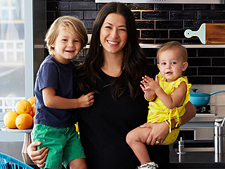 Room of the Week: Rebecca Minkoff's Kitchen Will Cure Your Fear of Color