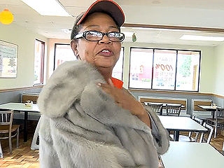 Woman Gives Fast Food Employee $10,000 Coat (VIDEO)