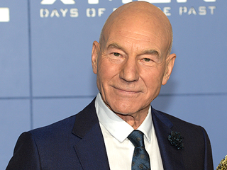 Watch Patrick Stewart React as He Wears a Dancing, Singing Christmas Hat