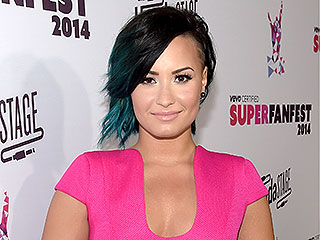 Why Did Demi Lovato Refer to Herself as the 'Luckiest Woman in the World?' (PHOTO)