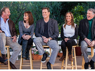 The Cast of Dynasty Reunites on Home & Family (Video)