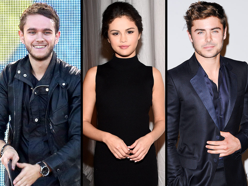 Selena Gomez Gets 'Cozy' with Zedd During a Night Out with Zac Efron