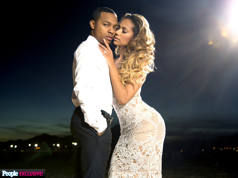 Exclusive: Shad 'Bow Wow' Moss and Fiancee Erica Mena Engagement Photos