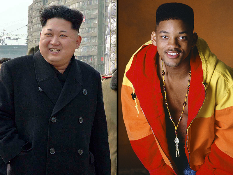 Kim Jong Un's Haircut Looks Like Will Smith