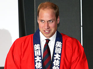 Royal Astronaut? Prince William Shares Boyhood Wish During Visit to Japan