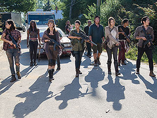 FROM EW: The Walking Dead Cast Reveals Who Would Die First in a Real Zombie Apocalypse