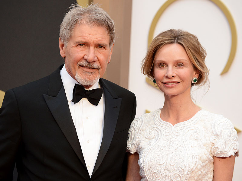 Harrison Ford Plane Crash: Calista Flockhart Visits ...