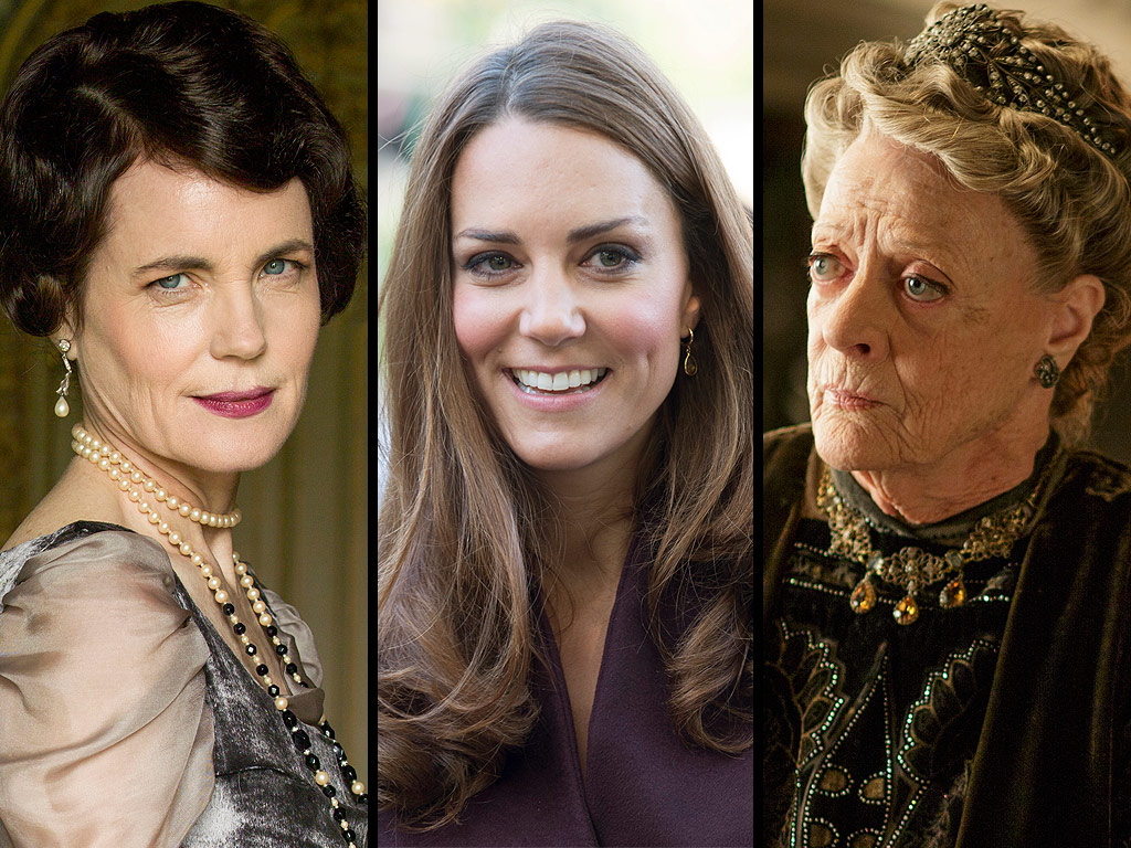 Kate Middleton on Downton Abbey: Princess to Visit Show's Set