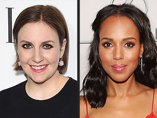 Lena Dunham and Kerry Washington Cozy Up in Instagram Sneak Preview of Her Scandal Guest Spot