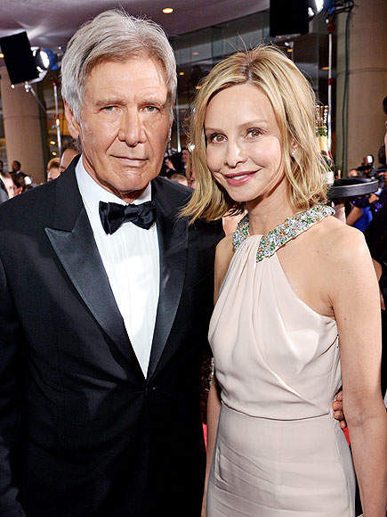 Harrison Ford Calista Flockhart 2014 Harrison Ford And Calista