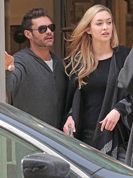 Ryan Seacrest Dating Model Renée Hall