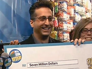 Pennsylvania Man Wins $7 Million from Lottery Ticket in His Get-Well Card