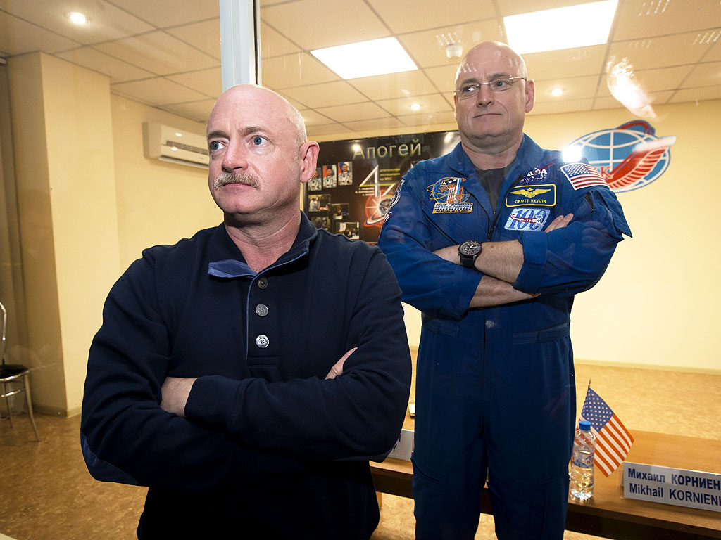 NASA to Study Twin Brothers Scott and Mark Kelly, One in ...