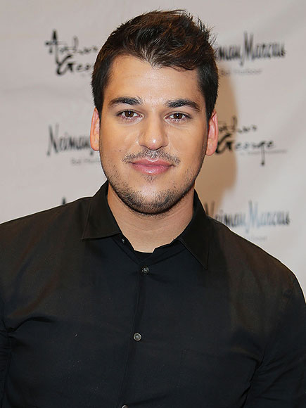 Rob Kardashian Shares Photo of Brother-in-Law Kanye West Kissing Baby North