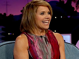 Katie Couric Pulled a Crazy April Fools' Prank on James Corden That Left Him Breathless