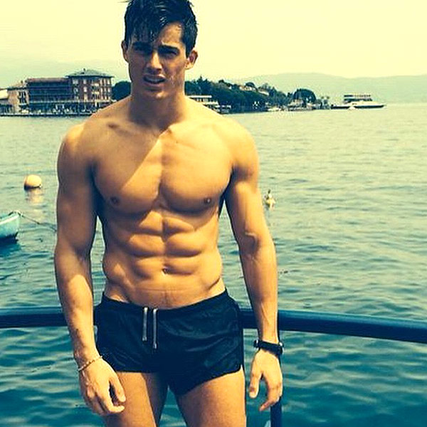 Hot Math Teacher at UCL Is Male Model Pietro Boselli