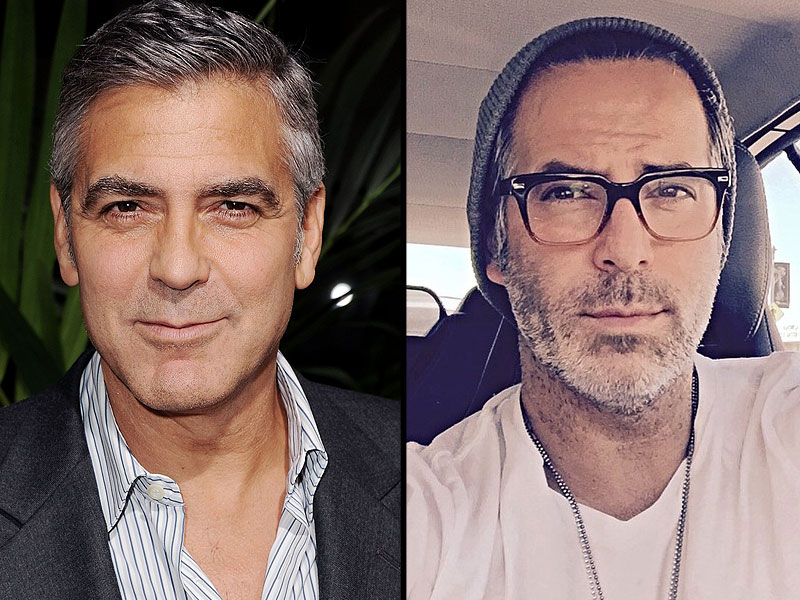George Cloney? This Male Model Looks Just Like George Clooney - double (PHOTO) George-clooney-800